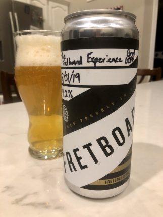 943. Fretboard Brewing - The Fretboard Experience Brut DIPA