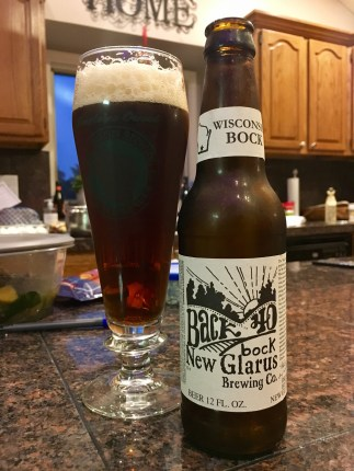 829. New Glarus Brewing - Back 40 Bock