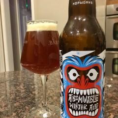 831. Hopworks Urban Brewery (HUB) – Abominable Winter Ale
