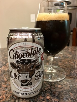 858. Four Hands Brewing - Chocolate Milk Stout