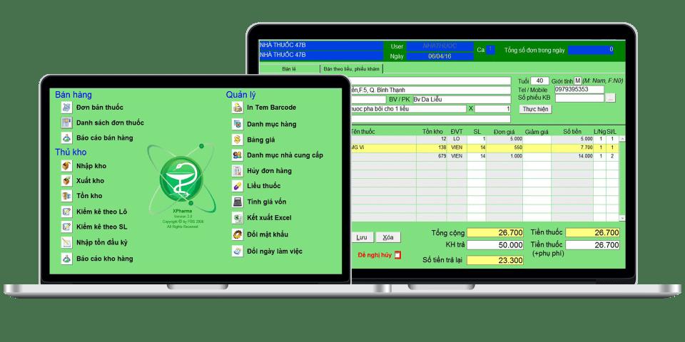 XPharma - Phần mềm nhà thuốc GPP miễn phí