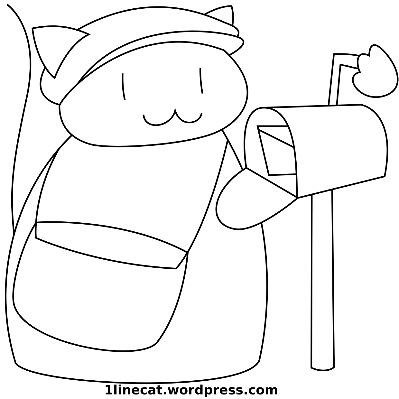 80 Postcat 1 Line Cat