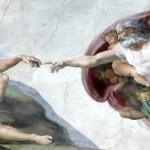 H δημιουργία του Αδάμ-Μιχαήλ Άγγελος