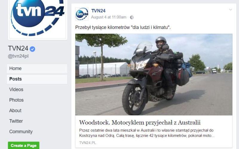 TVN 24 FB