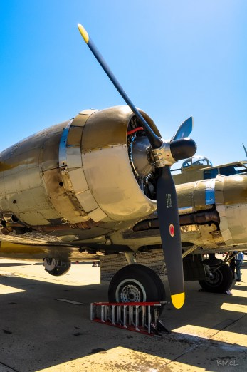 Flying Fortress 1200 HP Wright-Cyclone Engine