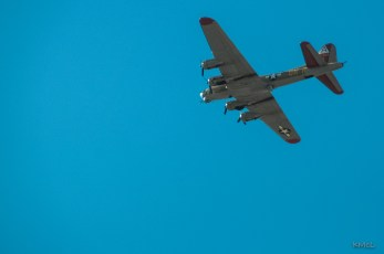 Worms Eye View of a Flying Fortress