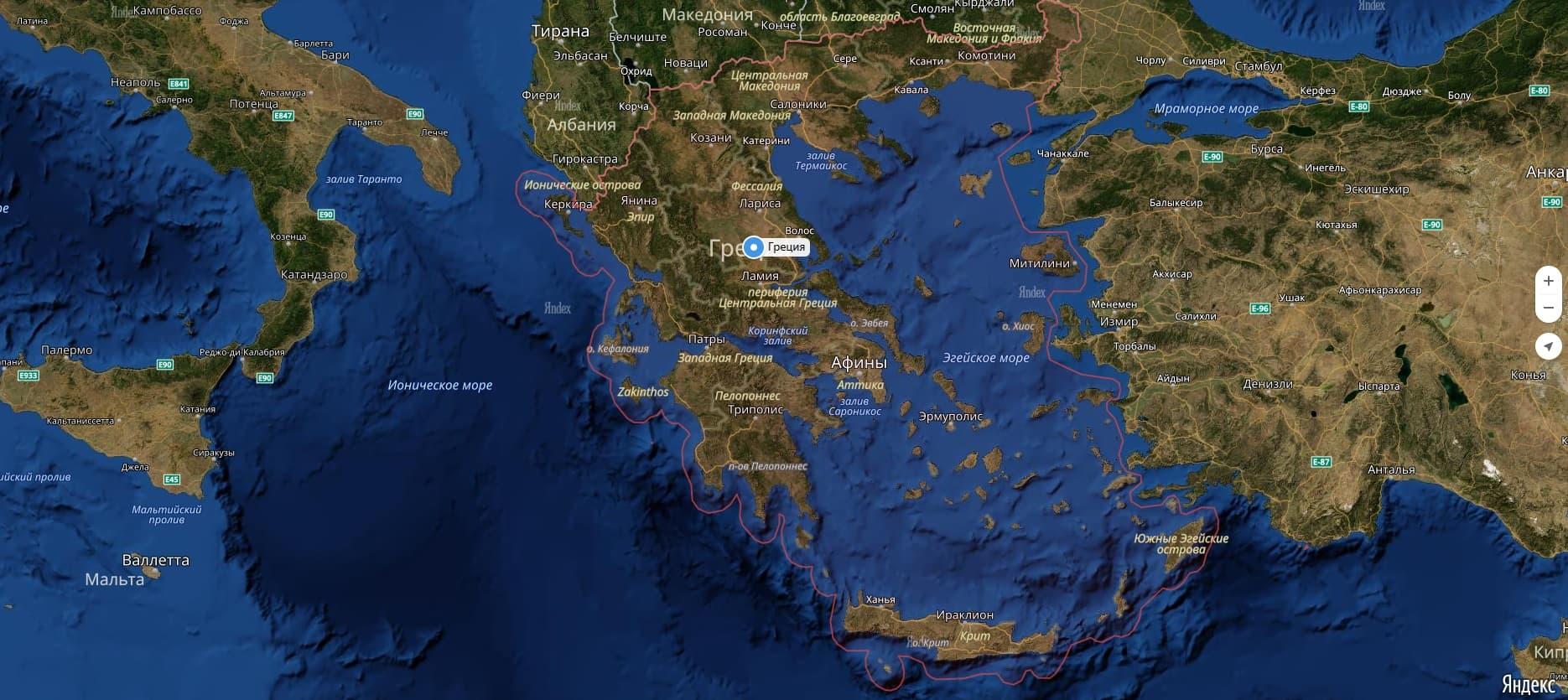 خريطة البر الرئيسي لليونان في أي شبه جزيرة تقع اليونان أين تقع اليونان اليونان على خريطة العالم
