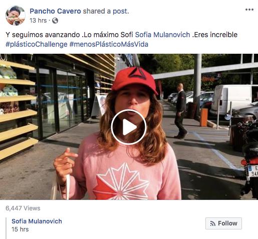Sofia Mulanovich-PlasticoChallenge