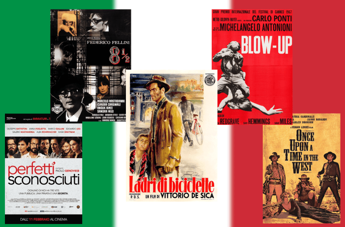 Italian films to include in your movie library: wonderful artistic creations from a cinema marked by charm and beauty