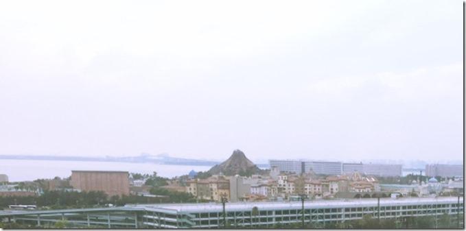 舞浜ユーラシアのスパ棟スダンダードクラス客室からの眺め