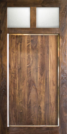 Sun Mountain Custom Interior Exterior Wood Doors Wide