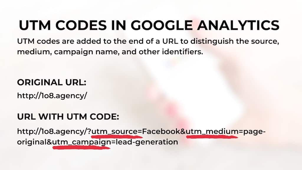 UTM Codes in Google Analytics