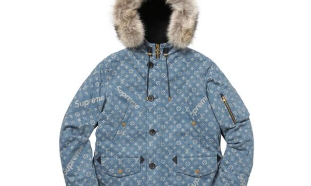 Louis Vuitton X Supreme Jacket