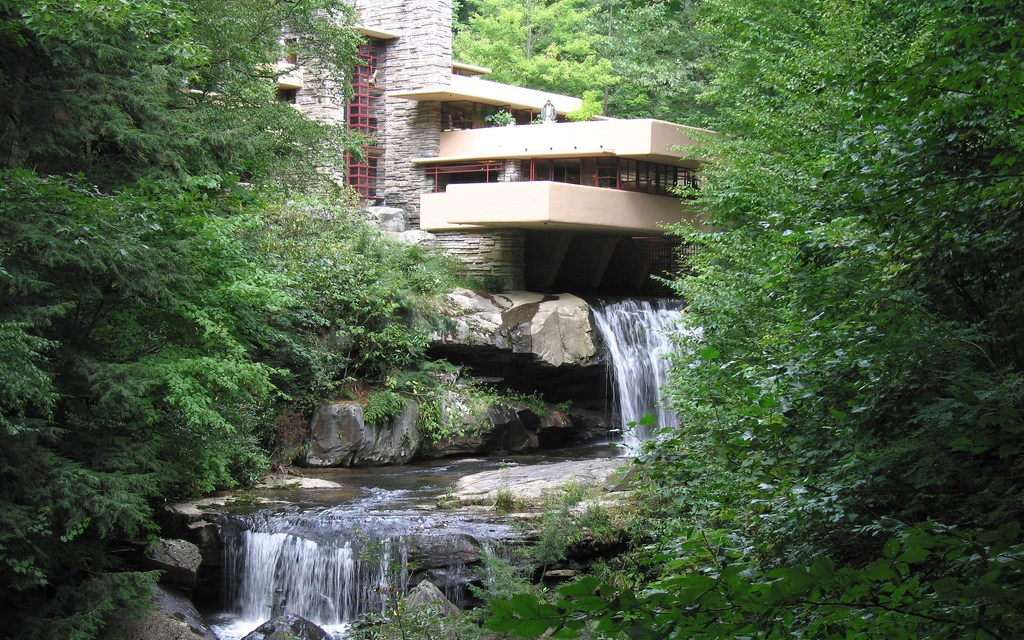 Fallingwater in Mill Run – Pennsylvania