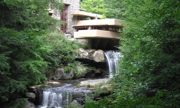 Fallingwater in Mill Run – Pennsylvania