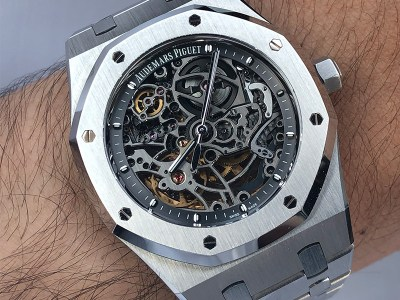 Ahmed Al Hashmi Audemars Piguet Royal Oak Openwork