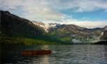 Eclaircie sur le lac Bohinj