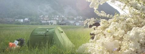 Le matin de la dernière nuit en Slovènie