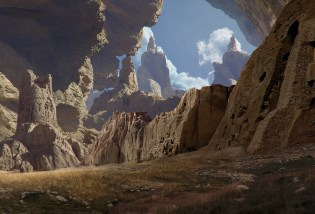 Afghanistan : Matte Painting