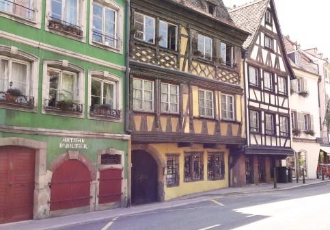Quai des Bateliers à Strasbourg