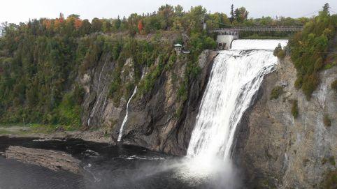 Les chutes de Montmorency, Québec