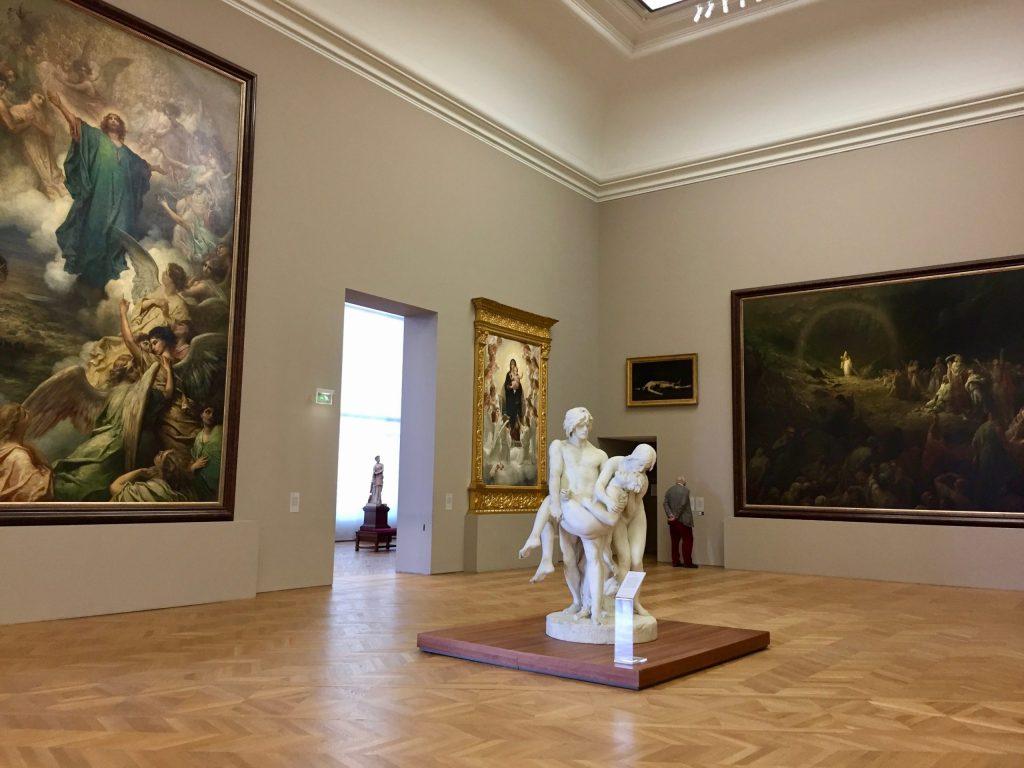Le Petit Palais, intérieur