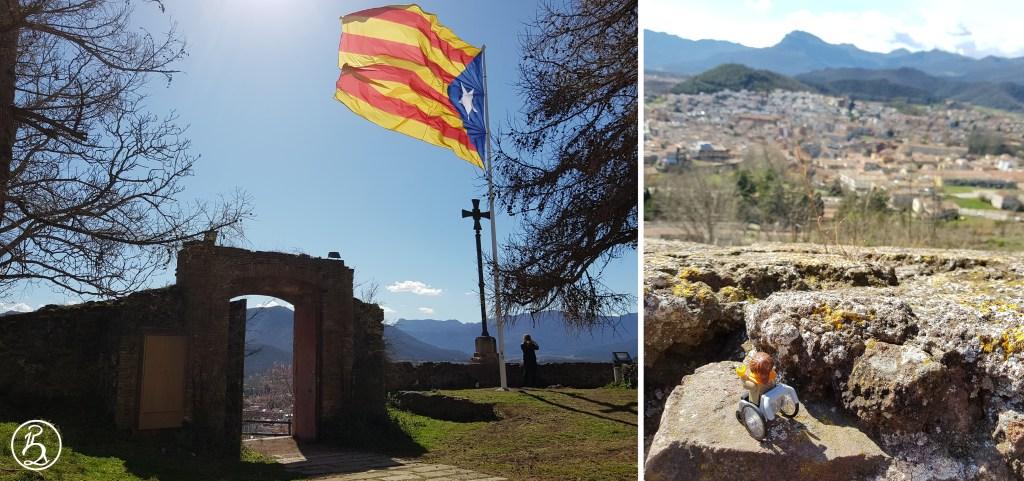 Espagne et découvertes catalanes en fauteuil Montsacopa et Olot