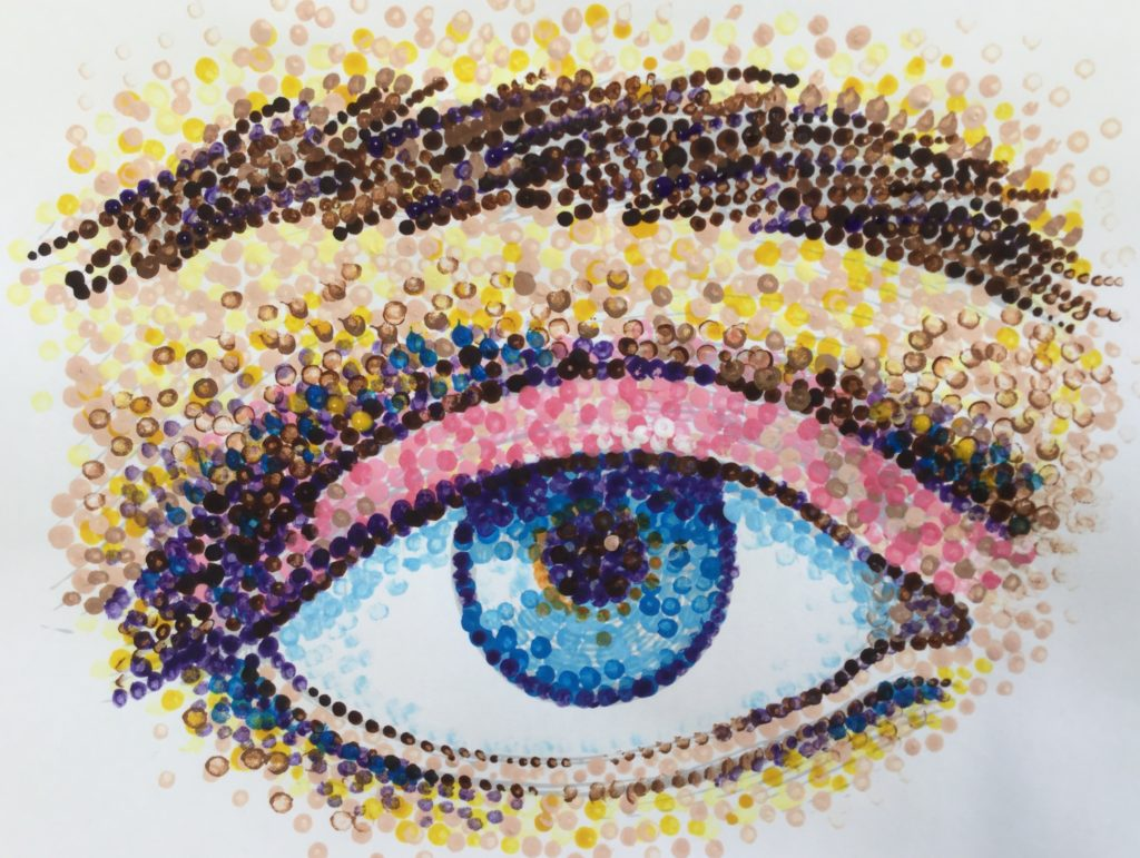 Contemporary Pointillism Artists