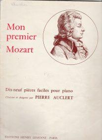 Mon premier Mozart, piano