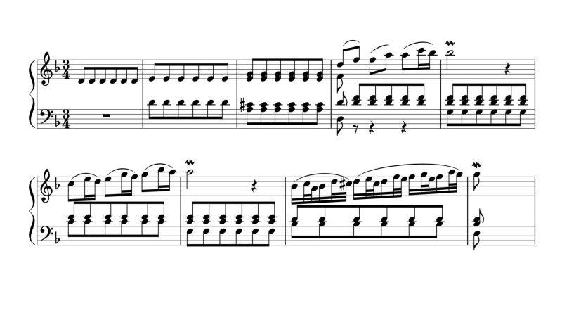 Marcello Bach Adagio BWV 74, 1ere partie