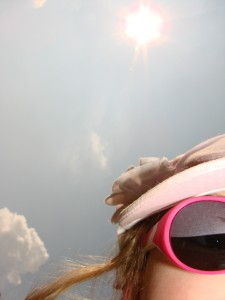 1 Picture 1 Word Pink Sunglasses