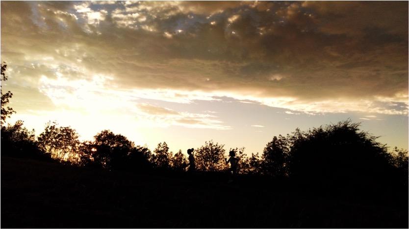 Sunset Running