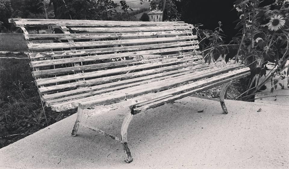 Authentic bench