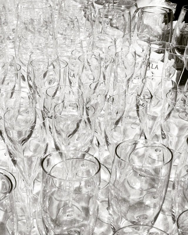 Around a glass