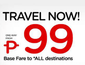 ZESTAIR 99 Pesos Promo Fare for September, October, November, December 2013