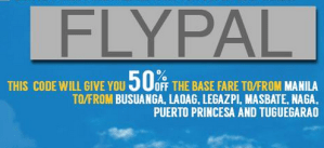 Philippine Airlines 50% Promo Fare 2015