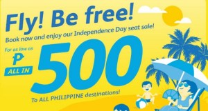 Cebu Pacific Promo Fare P500 One Way – 2015 to 2016  Travels