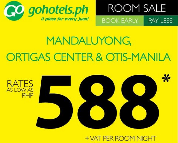 go hotels promo 2015 - Yellow Hotel 2015