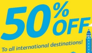 2015 Cebu Pacific Air 50% Discount International Destinations