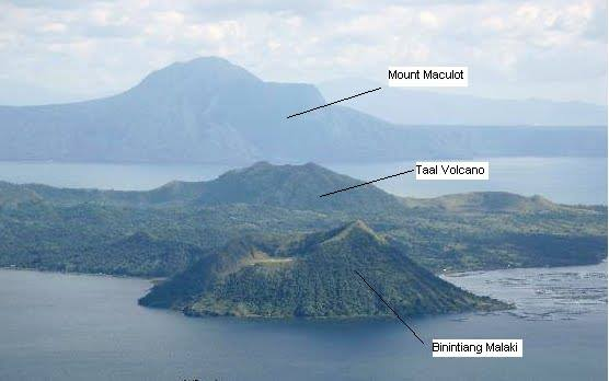 Binintiang Malake is not the Taal Volcano