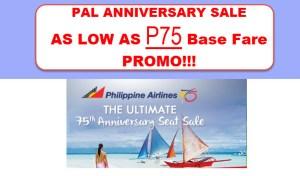 PAL PROMO 2016 TO 2017 ANNIVERSARY SALE