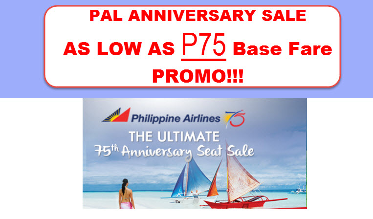 PAL PROMO 2016 TO 2017 ANNIVERSARY SALE