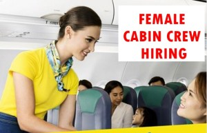 Cebu Pacific FEMALE Flight Attendant Hiring for Walk In Applicants