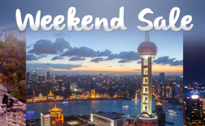 Philippine Airlines Weekend Sale to Hong Kong, Macau and more Chinese Cities