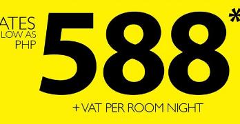 Go Hotels Promo 2017 at 588 Pesos per Night!!
