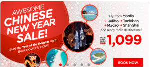 Air Asia Promo 2017: January to August