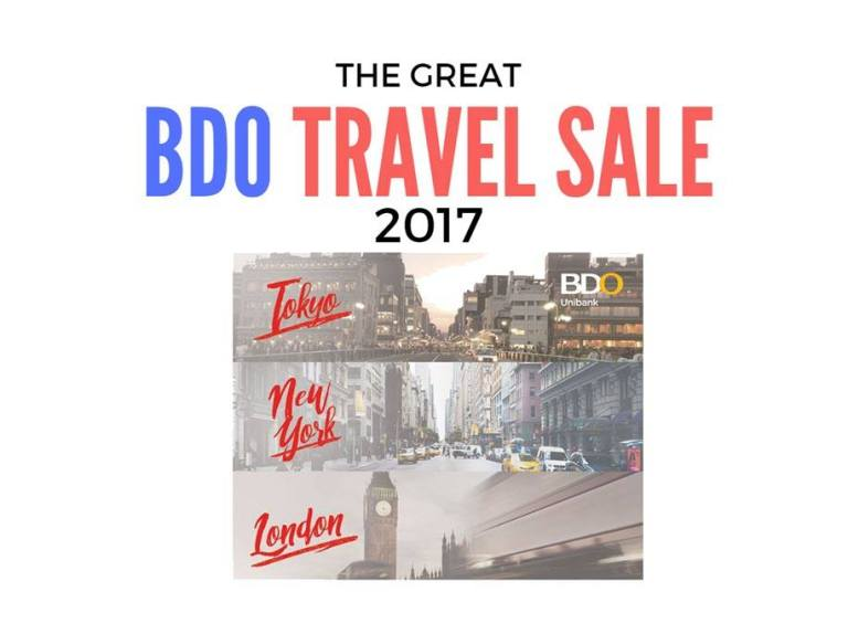 BDO Travel Sale