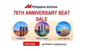 Phillippine Airlines anniversary promo for international 2017