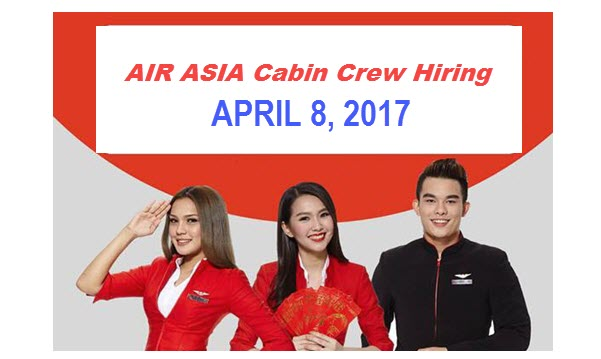 Airasia cabin crew hiring philippines 2017 for walk in for Cabin crew recruitment agency philippines