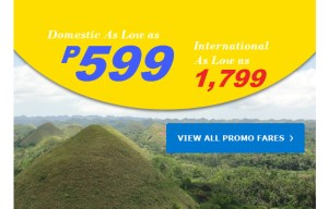 Promo Fares 599 Domestic | 1799 International – 2017 TRAVEL PERIOD